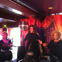 Photo taken at Hamburger Mary's by Wendy M. on 3/3/2013