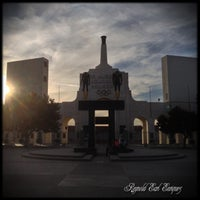 Photo taken at Los Angeles Memorial Coliseum by Earl E. on 2/16/2013