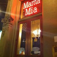 Photo taken at Mama Mia Trattoria by Kierston on 12/28/2012