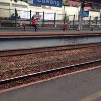 Photo taken at Stasiun Cawang by Evik D. on 5/7/2016