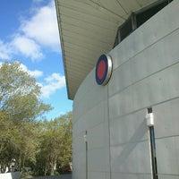 Photo taken at Estadio Polideportivo Islas Malvinas by Cristian H. on 10/12/2012