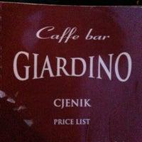 Photo taken at Caffe bar Giardino by Gülay 🌹🌙 on 7/30/2013