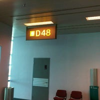 Photo taken at Gate D48 by ilonka p. on 12/16/2012