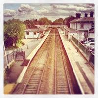Photo taken at Flint Railway Station (FLN) by Tas W. on 6/6/2013