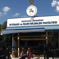 Photo taken at İktisadi ve İdari Bilimler Fakültesi by Burcu isil O. on 6/6/2013