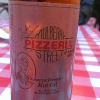 Photo taken at Mulberry Street Pizzeria by Dino C. on 6/8/2013
