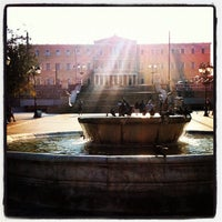 Photo taken at Syntagma Square by Nick M. on 9/20/2012