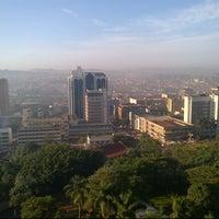 Photo taken at Sheraton Kampala Hotel by Nigel D. on 2/5/2013