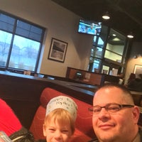 Photo taken at Boston Pizza by Dale C. on 3/23/2016