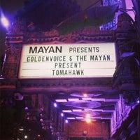 """Photo taken at Mayan Theater by Derek """"d☊rewreck"""" Schaefer on 2/20/2013"""