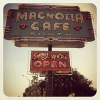 """Photo taken at Magnolia Cafe South by Derek """"d☊rewreck"""" Schaefer on 11/2/2012"""