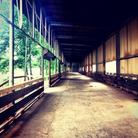 Photo taken at Atlanta BeltLine Corridor over Ponce de Leon by Dacey on 6/26/2013