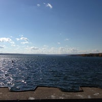 Photo taken at Canandaigua City Pier by Kevin M. on 10/21/2012
