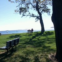 Photo taken at Collins Cove Beach by Claire E. on 9/23/2012
