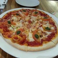 Photo taken at Capricciosa Pasta & Pizza by Yen Yen L. on 4/15/2013