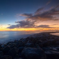 Photo taken at Magic Island by Chris on 9/27/2012