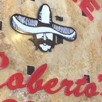 Photo taken at Roberto's Taco Shop by Teri C. on 4/26/2013