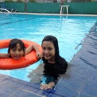 Photo taken at Swimming Pool Hotel Tiara by Sitha S. on 5/25/2014