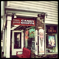 Photo taken at Sweet Josie's Candy Shoppe by Jessica on 9/26/2012