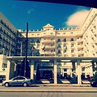 Photo taken at Grand Hotel Palace by Chrisoula K. on 6/15/2013