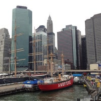 Photo taken at South Street Seaport by Richard J. on 10/6/2012