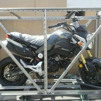 Photo taken at Huntington Beach Honda Motorcycles by Huntington H. on 8/14/2013