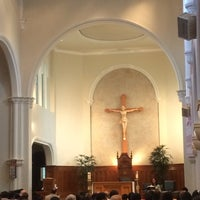 Photo taken at St. Mary's Cathedral by Justin S. on 9/29/2013