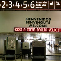 Photo taken at Barcelona Sants Railway Station by Eva C. on 10/9/2012