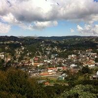 Photo taken at Morro do Elefante by Guilherme on 8/17/2013