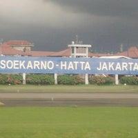 Photo taken at Soekarno-Hatta International Airport (CGK) by Cherlie A. on 7/11/2013