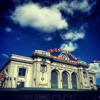 Photo taken at Denver Union Station by Jeff V. on 2/18/2013
