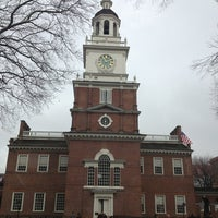 Photo taken at Independence Hall by Duncan on 1/12/2013
