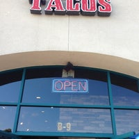 Photo taken at Los Tacos by Michael A. on 11/7/2012