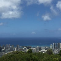Photo taken at Puʻu Ualakaʻa State Park by カナエ ハ. on 7/22/2016