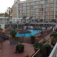 Photo taken at El Tropicano Hotel by Lucid Routes K. on 10/25/2012