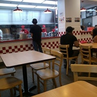 Photo taken at Five Guys by Jilly C. on 5/12/2013