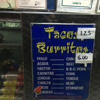 Photo taken at El Ranchito Taco Truck by Rainbeau on 1/9/2016