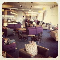 Photo taken at British Airways Galleries Lounge by Jeremy L. on 4/7/2013