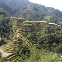 Photo taken at Banaue Rice Terraces Viewpoint by Rj M. on 4/23/2016