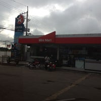 Photo taken at Caltex Gas Station by Grace A. on 9/28/2012
