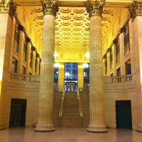Photo taken at Chicago Union Station by Ali M. on 1/11/2013