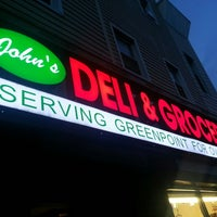 Photo taken at John's Deli & Grocery by Mister A. on 9/13/2013