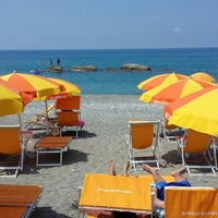 Photo taken at Spiaggia Di Paola by Roberto S. on 7/7/2013