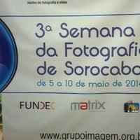 Photo taken at Grupo Imagem Nucleo de Fotografia by Edvania Moreira on 5/6/2014