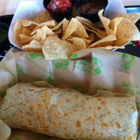 Photo taken at Baja Fresh Mexican Grill by Russell T. on 3/11/2014