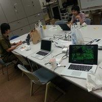 Photo taken at 岩手県立大学 ソフトウェア情報学部A棟 by n0bisuke on 8/7/2013