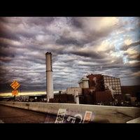 Photo taken at Baltimore BRESCO Smokestack / Wheelabrator Incinerator by Lindsay H. on 12/21/2012
