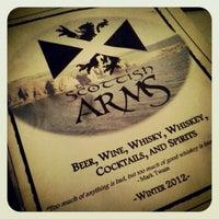 Photo taken at Scottish Arms by John C. on 12/29/2012