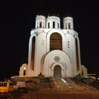 Photo taken at Кафедральный Собор Христа Спасителя by Olesya on 5/3/2013