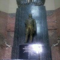 Photo taken at Monumento al General Alvaro Obregón by Erik P. on 9/25/2012